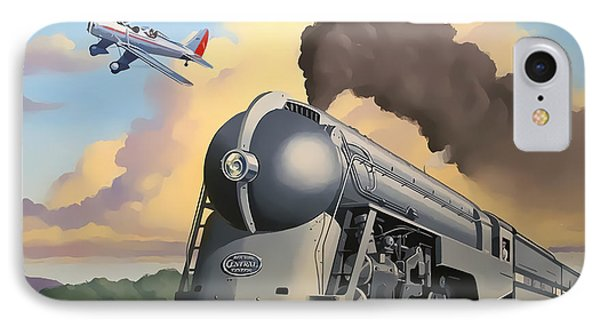 20th Century Limited And Plane IPhone Case