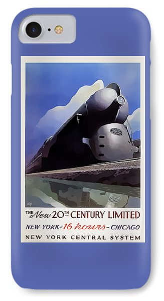 20th Century Limited IPhone Case