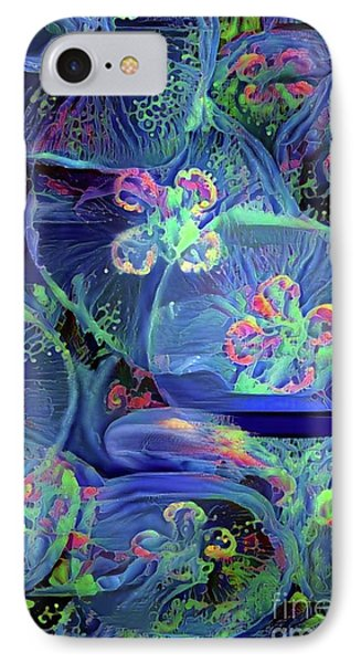 Abstract Jellyfish IPhone Case