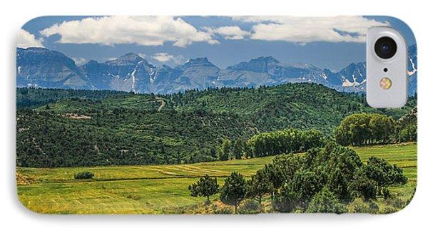 #2918 - Sneffles Range, Colorado IPhone Case