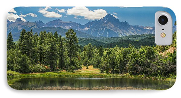 #2933 - Sneffles Range, Colorado IPhone Case