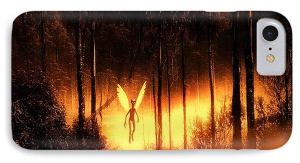Alien Angel By Raphael Terra IPhone Case