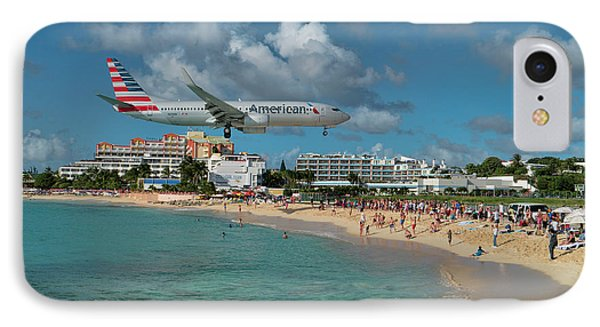 American Airlines At St. Maarten IPhone Case