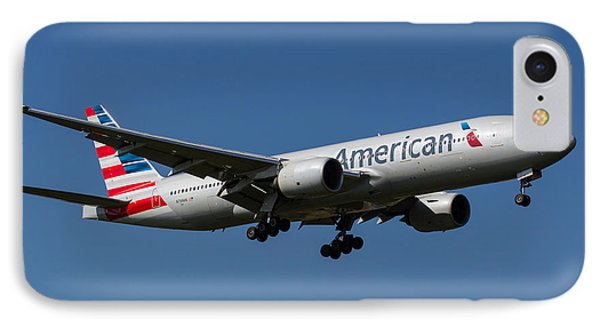 American Airlines Boeing 777 IPhone Case