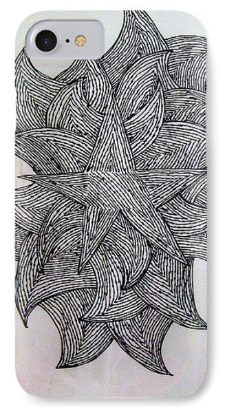3 D Sketch IPhone Case