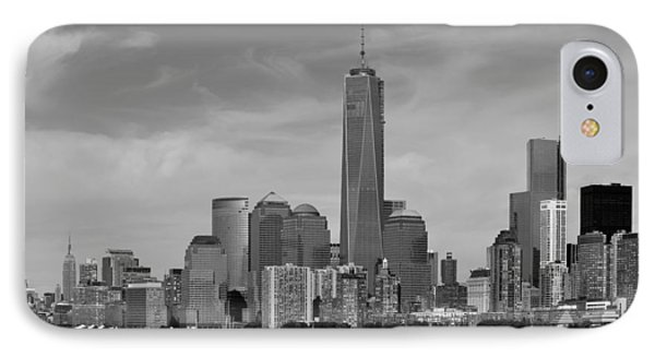 Downtown Manhattn - Freedom Tower IPhone Case