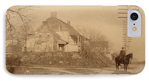 Dyckman Farmhouse  IPhone Case