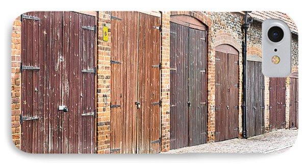 Garage Doors IPhone Case