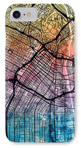 Los Angeles Downtown iPhone 8 Cases Fine Art America