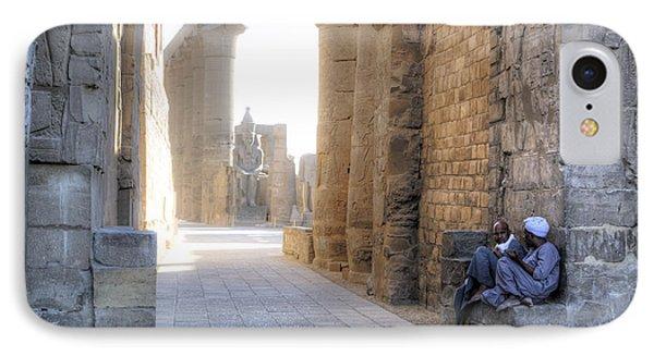 Luxor Temple - Egypt IPhone Case