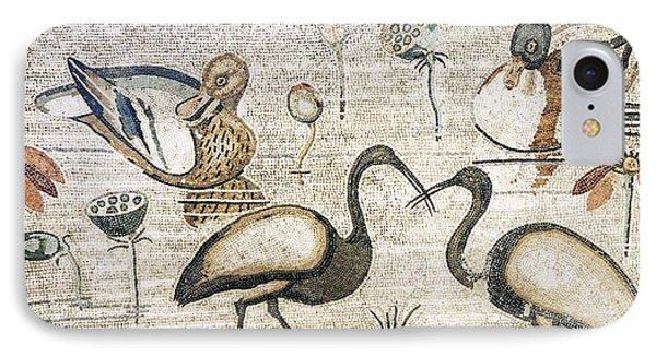Nile Flora And Fauna, Roman Mosaic IPhone Case