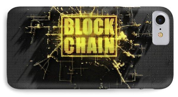 Pixel Block Chain IPhone Case