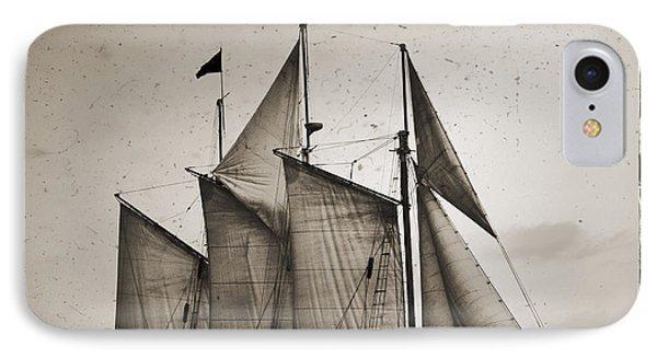 Schooner Pride Tall Ship Charleston Sc IPhone Case