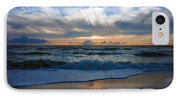 Sunset At Delnor-wiggins Pass State Park IPhone Case