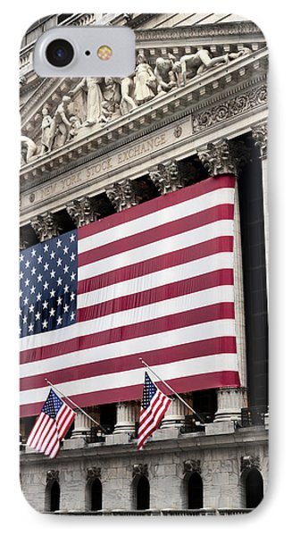The Facade Of The New York Stock IPhone Case