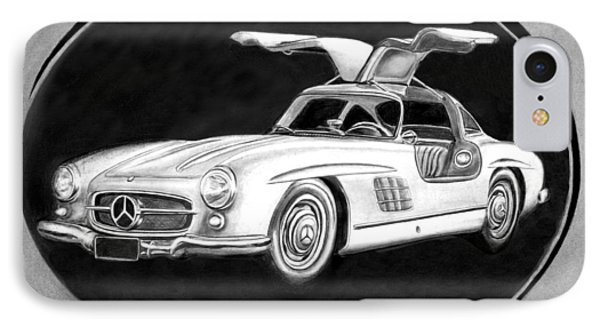 300 Sl Gullwing IPhone Case