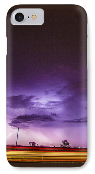 Nebraskasc iPhone 8 Case - 6th Storm Chase 2015 by NebraskaSC
