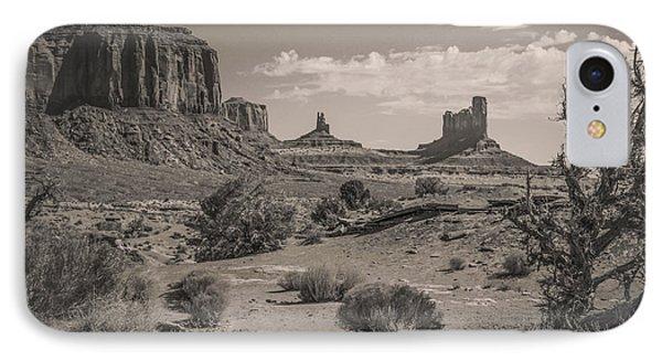 #3326 - Monument Valley, Arizona IPhone Case