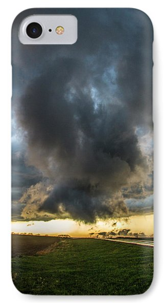 Nebraskasc iPhone 8 Case - 3rd Storm Chase Of 2018 050 by NebraskaSC