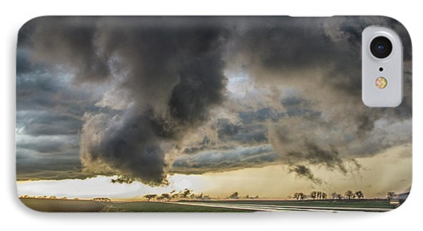Nebraskasc iPhone 8 Case - 3rd Storm Chase Of 2018 051 by NebraskaSC