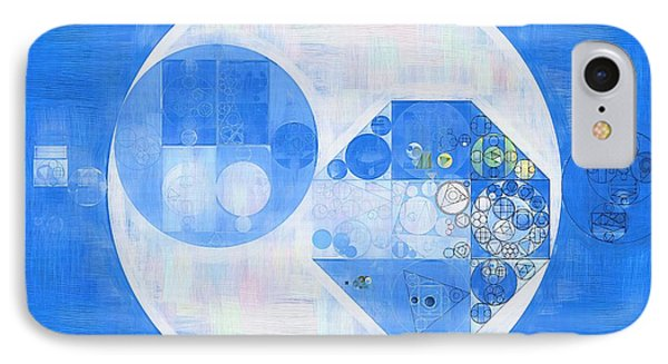 Abstract Painting - Denim IPhone Case