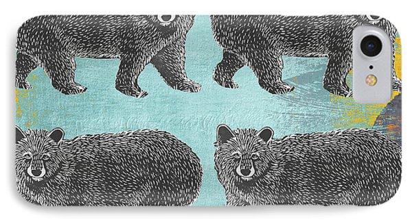 4 Black Bears IPhone Case