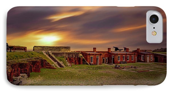IPhone Case featuring the photograph Fort Clinch by Peter Lakomy