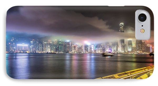 Hong Kong Stunning Skyline IPhone Case