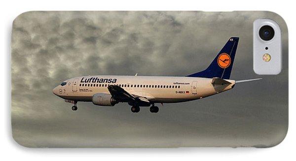 Jet iPhone 8 Case - Lufthansa Boeing 737-300 by Smart Aviation