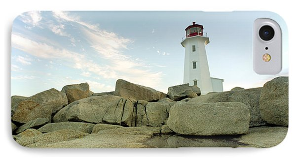 Peggys Cove Lighthouse Nova Scotia IPhone Case