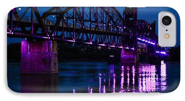 Rock Island Bridge Arkinsas IPhone Case