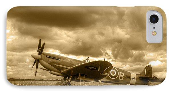 Spitfire Mk Ixb IPhone Case