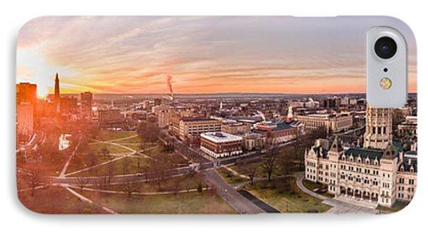 Sunrise In Hartford, Connecticut IPhone Case