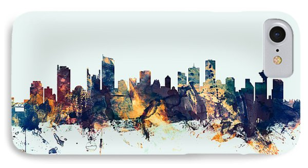 Vancouver Canada Skyline IPhone Case