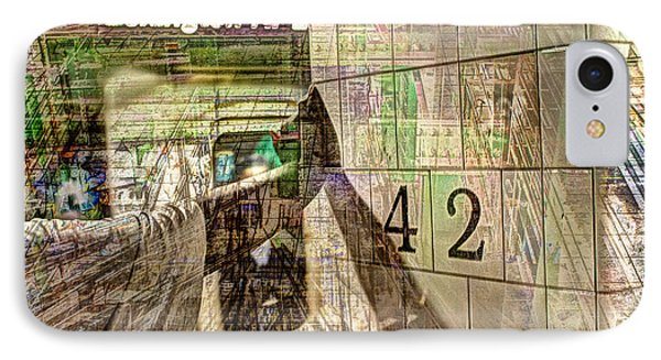 42nd Subway Collage IPhone Case
