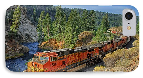 Train iPhone 8 Case - 4688 by Donna Kennedy