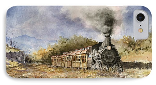 Train iPhone 8 Case - 481 From Durango by Sam Sidders