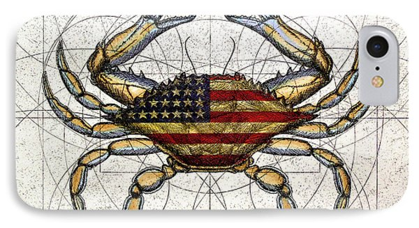 4th Of July Crab IPhone Case