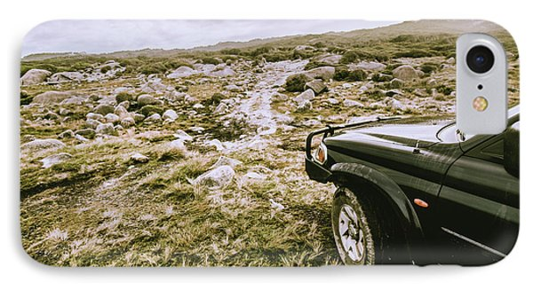 Truck iPhone 8 Case - 4wd On Offroad Track by Jorgo Photography - Wall Art Gallery