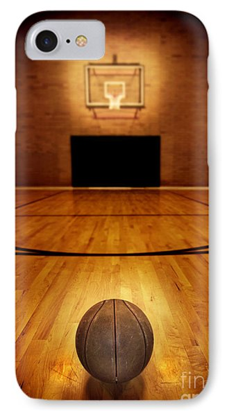 Basketball And Basketball Court IPhone Case