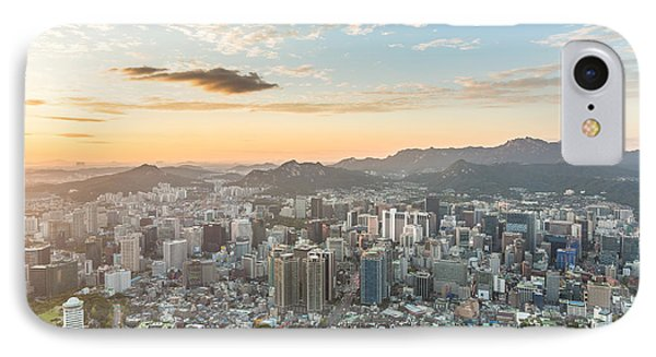 Sunset Over Seoul IPhone Case