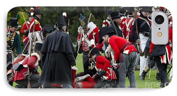 The Battle Of Queentson Heights IPhone Case