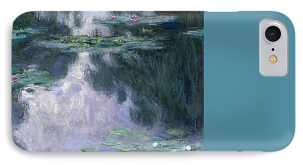 Impressionism iPhone 8 Case - Waterlilies by Claude Monet