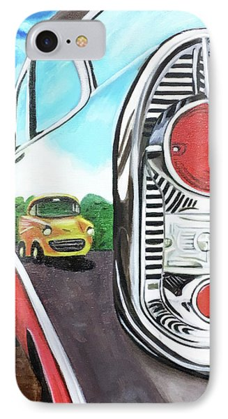 56 Chevy Reflections IPhone Case