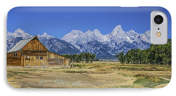 #5730 - Mormon Row, Wyoming IPhone Case