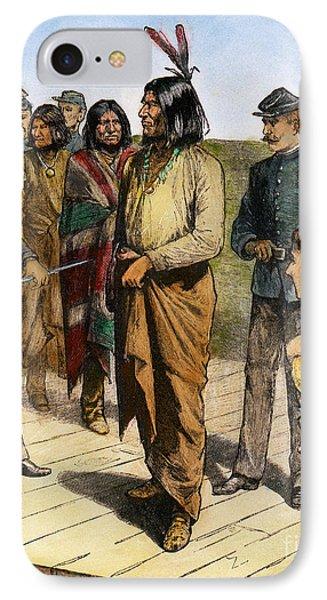Geronimo (1829-1909) IPhone Case