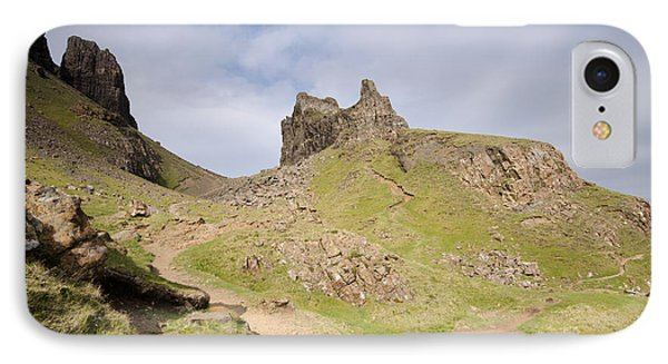 Scotland iPhone 8 Case - The Quiraing by Smart Aviation
