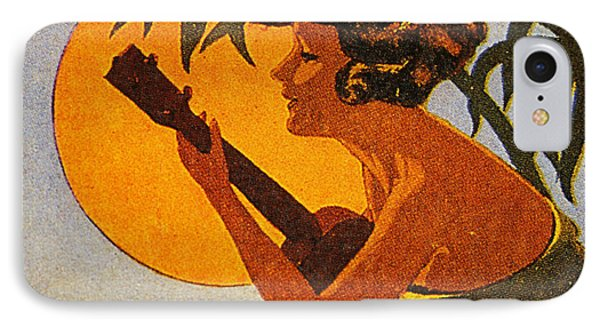 Vintage Hawaiian Art IPhone Case