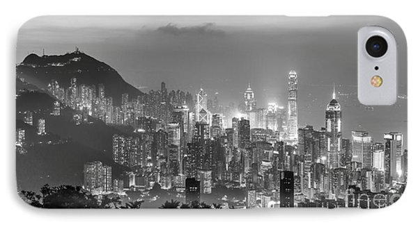 Hong Kong Skyline IPhone Case