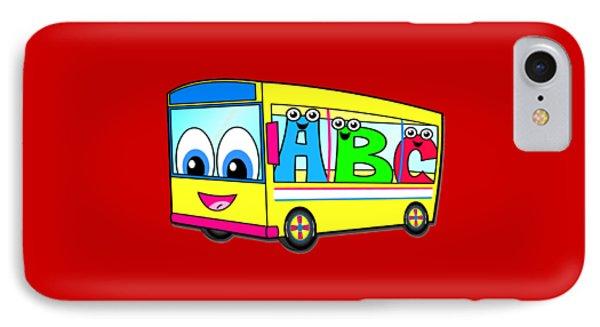 A B C Bus T-shirt IPhone Case